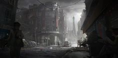 Assassins Creed Unity: World war , Nacho Yagüe on ArtStation at https://www.artstation.com/artwork/Oza68