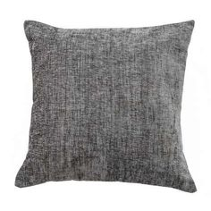 Available in deep charcoal grey tones this square chenille cushion is finished with textured effect fabric and features a removable cover and a polyester hollowfibre insert. Grey Cushion Covers, Grey Cushions, Large Pillows, Throw Pillows, Woodland Room, Nail Room, Soft Furnishings, Charcoal, Bedroom Decor