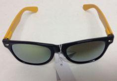 47b02264aea UV400 Sunglasses NWT Black   Yellow Mirrored  Trose  Square