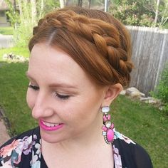 20 Best Milkmaid Hairstyles - Pretty Milkmaid Braid for Women
