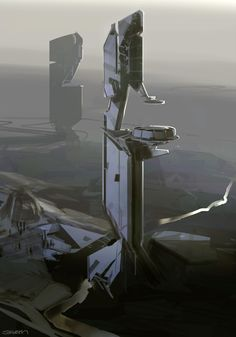 Halo 4 - early Forerunner explorations. 2009 - 2010. Microsoft - 343 Industries.