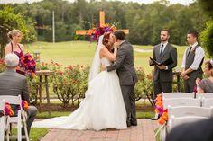 Multicolored Fall Wedding by Amanda Hedgepeth Photography - KnotsVilla