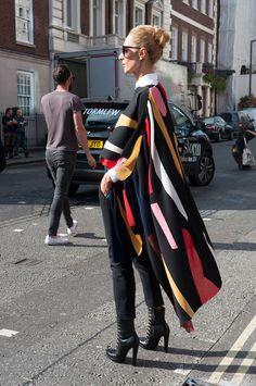 Street style : Londres, fashion week printemps-été 2015