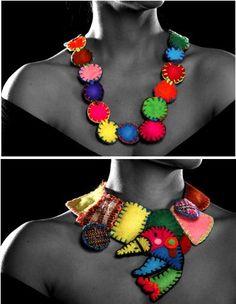 Desde Mèjico Tixinda nos sorprende con suspersonal visiòn en un espectacular mundo de color.Hecho a mano y con el corazòn las ricas tonalidades evocan la