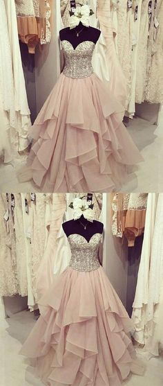 Strapless Pink Ball Gowns Prom Dresses,Lace Up Prom Gowns,Quinceanera Dresses,Princess Prom Dresses For Teens,Evening Dresses Prom Dresses For Teens, A Line Prom Dresses, Cheap Prom Dresses, Prom Party Dresses, Formal Evening Dresses, Formal Prom, Dress Formal, Graduation Dresses, Prom Gowns