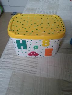 Pote de sorvete decorado!