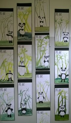Foreground middle ground and background grade maybe – Artofit Classroom Art Projects, School Art Projects, Art Classroom, New Year Art, 2nd Grade Art, Panda Art, Ecole Art, Kindergarten Art, Spring Art