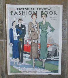 Pictorial Review Fashion Book, Spring 1931