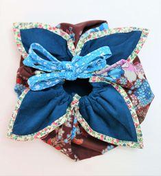 Japanischen Lotus Beutel nähen Stoff Design, Lotus, Band, Sewing, Diy, Accessories, Women, Popcorn, Scrappy Quilts
