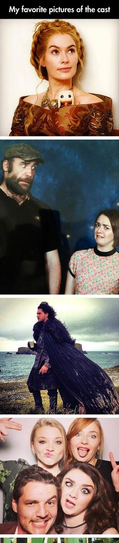 The Cast Of Game Of Thrones Like You've Never Seen Them - 25 Pics