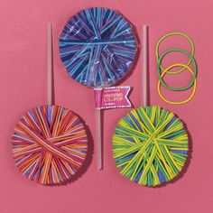 lollipop hair ties!
