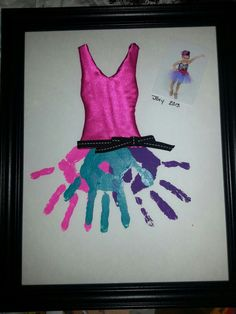 Gift for Kylie's dance teacher at the annual recital