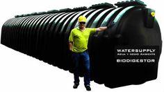 Nuestro nuevo sistema Biodigestor o Tanque Séptico para aguas servidas, es el único que te permitirá sustituir de manera más eficiente y rápida el uso de fosas sépticas escavadas o en hormig...