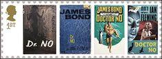 estampillas alusivas a algunas peliculas de James Bond Google