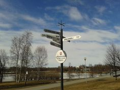 Some sister cities of Oulu.