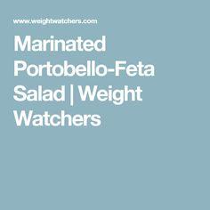 Marinated Portobello-Feta Salad | Weight Watchers
