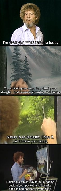 Bob Ross is still awesome