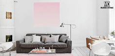 Cómo utilizar el color rosa para decorar tu casa sin ser cursi