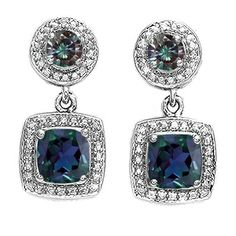 Alexandrite earrings!
