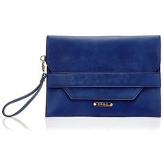 Lydc Jewel Clutch Bag (685 CZK) ❤ liked on Polyvore featuring bags, handbags, clutches, jeweled handbags, lipsy, blue purse, jeweled purse and blue clutches