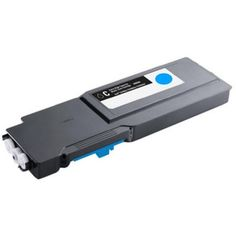 Remanufactured replacement for Dell 331-8432 (1M4KP) Cyan laser toner cartridge for Dell C3760 - C3765 series printers