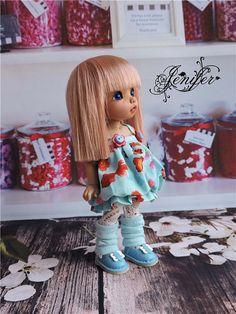 Dress for a doll BJD Lati Yellow/Pukifee/IrrealDoll