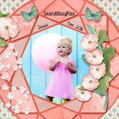 Tessa, our granddaughter, November 2016. Kit used: Up, Up and Away by PattyB Scraps Store link:  http://www.godigitalscrapbooking.com/shop/index.php?main_page=index&manufacturers_id=149 Template: by Christaly