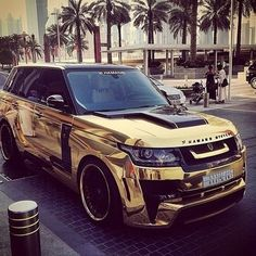 Gold chrome!? Something you can find in Dubai
