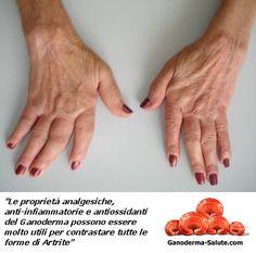In quest'articolo > http://ganoderma-salute.com/benefici-ganoderma-artrite/ vediamo insieme i #Benefici del #Ganoderma contro l'#Artrite