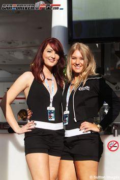 Chicas Gran Premio de Gran Bretaña 2012