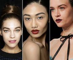Fall/ Winter 2014-2015 Makeup Trends: Berry Cherry Lips  #beautytrends #makeuptrends #makeup