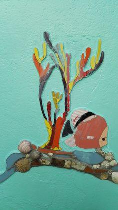 Detalle del Mural Un Mar de Juegos. Ricardo Stefani y Julia Gurwicz. Jardín de infantes integral n 1 Alfredo Palacios.