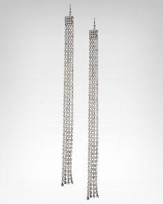 8. a glam piece of jewelry (bebe Crystal Strand Duster Earring, $29, SKU 193818) #bebe #wishesanddreams