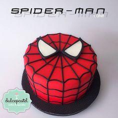 Torta Spiderman Cake by Dulcepastel.com - Tortas en Envigado - Tortas en Medellín, Cupcakes en Envigado - Cupcakes en Medellín