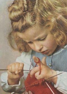 On apprenait à tricoter