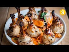 Chinese Chicken Lollipops Recipe - YouTube