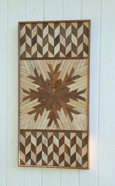 Reclaimed Wood Wall Art Wall Decor Lath Natural by PastReclaimed