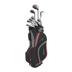 #Wilson Profile HL Complete Package #Golf #Set   For full review visit http://best10best.com/best-beginner-golf-clubs/