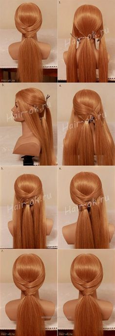 Neat Beautiful 10 Minutes Hairstyle  The post  Beautiful 10 Minutes Hairstyle…  appeared first on  Emme's Hairstyles .