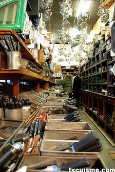Paris' Oldest Kitchen Equipment Shop - E DehiIlerin.  I need a few new wooden utensils,  I would love to go!  Still using one from there that is more than 15 years old.