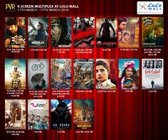 Check out the latest  in  Films at  Don't miss your  movie! Pvr Cinemas, The Revenant, Latest Movies, Mall, Films, Baseball Cards, Check, Movies, Cinema