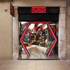 Munich Sports Concept Store. Barcelona. Creative direction & design.