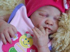 Reborn, baby, newborn, doll, girl, OOAK, Liam, by Marissa May