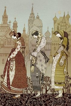 russian folk art | Art-Russian Folk Art / Russian folklore