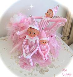 Sleigh Ride ! :) Vintage pink elves