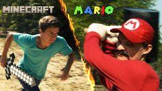 Minecraft v.s. Mario