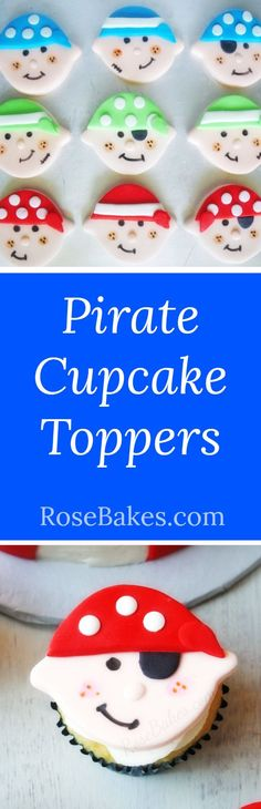 Pirate Cupcake Toppe
