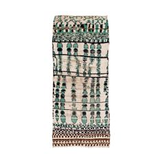 Love the colors and lived in feel of this Vintage Moroccan Carpet by Madeline Weinrib