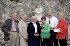 Sean Tobin, Lois Tobin, Sr Mary DeLourdes Fahy, Eileen O'Connor, Ronnie O'Gorman, Marion Cox pictured at the launch of Autumn Gathering 2013 — Women Writers running from October 3-7 at Coole Park.  Photograph by David Ruffles. http://www.advertiser.ie/galway/article/61947/lady-gregory-autumn-gathering-to-celebrate-women-writers