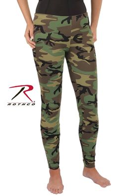 Women's Camo Leggings combine classic military camo with women's fashion. The comfortable cotton and spandex fabric make these camo leggings the perfect fashion statement. Camo Leggings, Leggings Are Not Pants, Ladies Leggings, Leggings Style, Urban Fashion Women, Black Women Fashion, Womens Fashion For Work, Fashion Fall, Women's Fashion Leggings